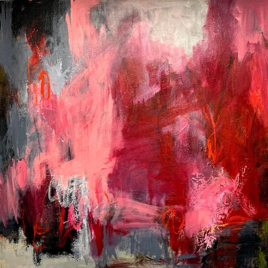 Hot Mess wall art patricia payne canvas 48x48